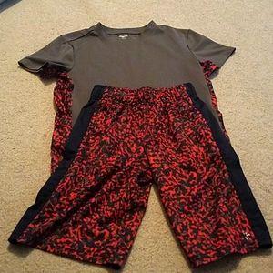 Gymboree shorts and matching shirt set, boys